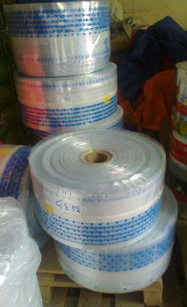 Cuộn PP in màu xanh